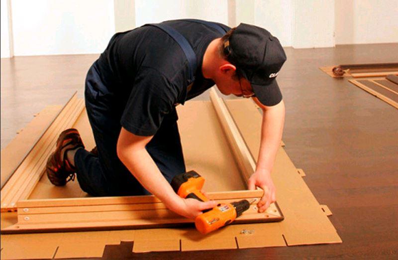 Как установить дверь межкомнатную своими руками на роликах 50